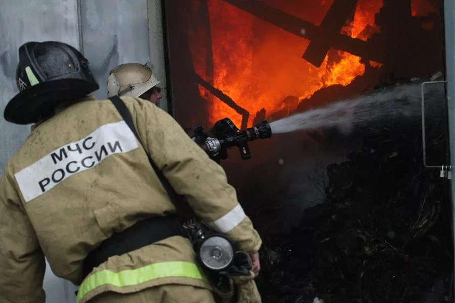 В Хакасии неизвестные подожгли новые коттеджи